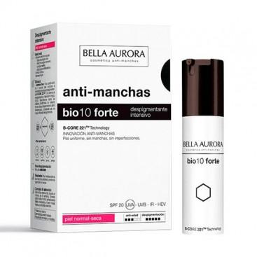 Bio 10 Forte Tratamiento Despigmentante Intensivo Piel Normal-Seca Bella Aurora 30 ml