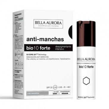 Bio 10 Forte Tratatamiento Despigmentante Intensivo Bella Aurora Piel Sensible 30 ml