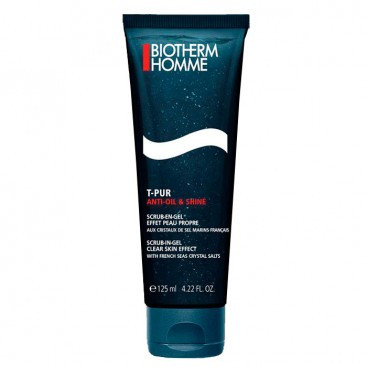 T-Pur Anti-Oil Shine Gel Exfoliante Biotherm Homme 125ml