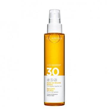 Aceite en Bruma Solar Tacto Seco SPF 30 Clarins 150 ml