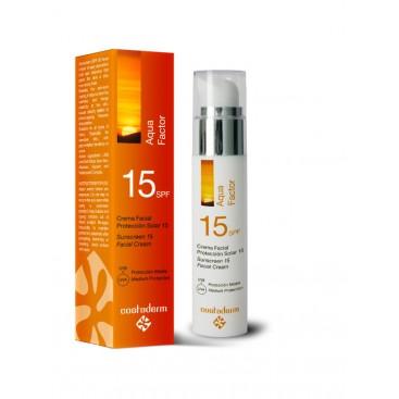Crema Facial Protección Solar 15 SPF AQUA FACTOR Costaderm 50 ml