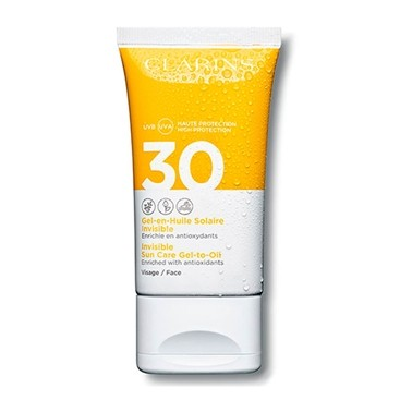 Gel Aceite Protector Facial Invisible SPF 30 Clarins 50 ml
