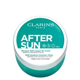 After Sun Suncare Mascarilla Facial Refrescante e Hidratante Clarins 100 ml