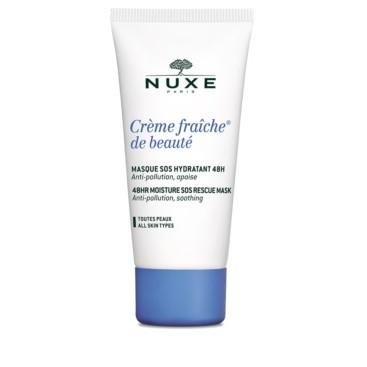 Creme Fraiche de Beaute Mascarilla SOS Facial Hidratante Nuxe 50 ml