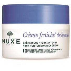 Creme Fraiche de Beaute Crema Facial Hidratante 48h Piel Seca Nuxe 50 ml