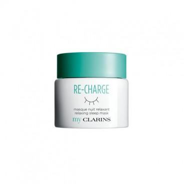 My Clarins Re-Charge Mascarilla Noche Nutritiva y Relajante Clarins 50 ml