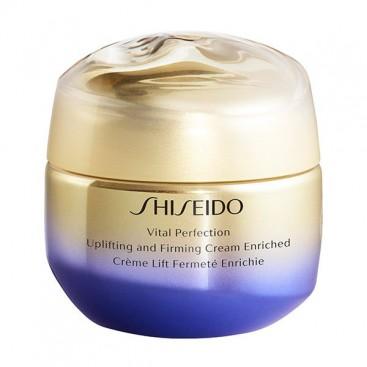 Vital Perfection Uplifting and Firming Tratamiento Facial Reafirmante Crema Rica Shiseido 50 ml
