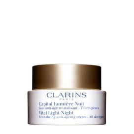 Capital Lumière Crema Revitalizante de Noche para Todo Tipo de Pieles Clarins 50 ml