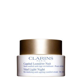 Capital Lumière Crema Revitalizante de Noche para Pieles Secas Clarins 50 ml