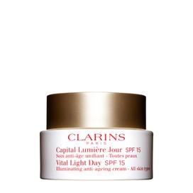 Capital Lumière Crema Unificante de Día SPF 15 para Todo Tipo de Pieles Clarins 50 ml