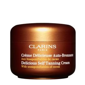 Crema Deliciosa Autobronceadora Corporal y Facial al Cacao Clarins 150 ml