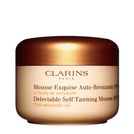 Mousse Exquisita Autobronceadora SPF 15 Clarins 125 ml