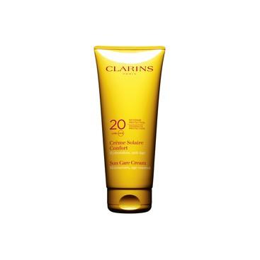 Crema Solar Confort Protección Media UVA/UVB 20 Clarins 200 ml