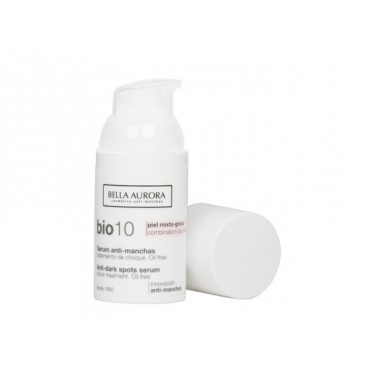 Bio 10 Antimanchas Trat. de Choque. Piel Mixta-Grasa Bella Aurora 30 ml