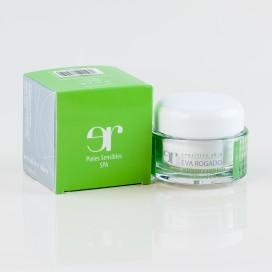 Crema Hidratante, Relajante y Antiestrés para Piel Sensible Eva Rogado SPF15 50 ml