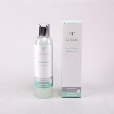 Tónico Exfoliante para Cara y Cuello con Extracto de Hamamelis Eva Rogado 200 ml