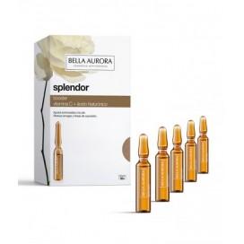 Splendor Booster Antiedad Vitamina C + Ac. Hialurónico Ampollas 5 udsx 2 ml