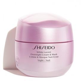 White Lucent Overnight Crema & Mask Shiseido 75 ml