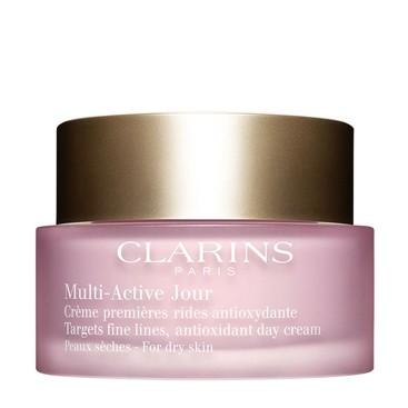 Multi-Active Crema de Día Antifatiga para Pieles Secas Clarins 50 ml