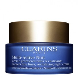 Multi-Active Crema de Noche Pieles Normal-Mixtas Clarins 50 ml