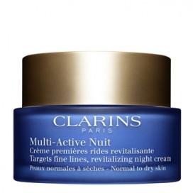 Multi-Active Crema de Noche para Pieles Secas Clarins 50 ml