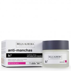 B7 Crema Antimanchas Aclarante Piel Normal-Seca SPF 15 Bella Aurora 50 ml