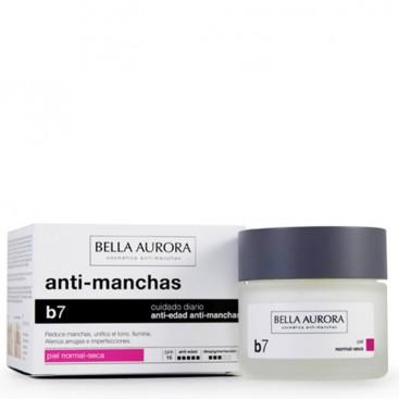 B7 Crema Hidratante Antimanchas Aclarante SPF 15 Bella Aurora 50 ml